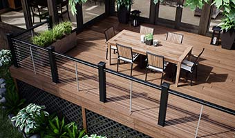 Deckorators Vault Deck in Mesquite